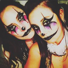 Clown make-up #halloween
