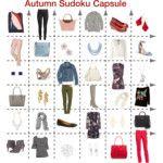 Autumn Sudoku Capsule Wardrobe