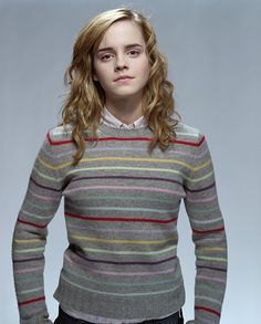knit Hermione's rainbow sweater