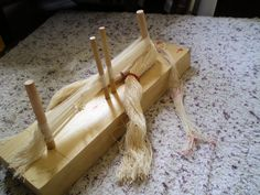 Heddle making jig