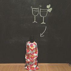 Saquinho para vinho
