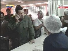 (video) Chávez le reclama al Ministro de Vivienda (por cel) y regaña a d...