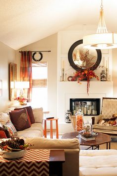 Sweet Something Design, Autumn Living Room