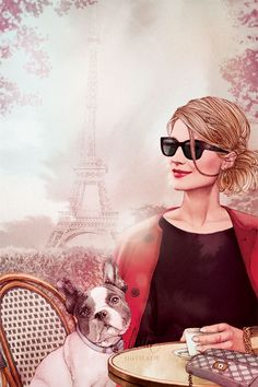 Ëlodie, illustratrice mode freelance * french fashion illustrator based in Paris
