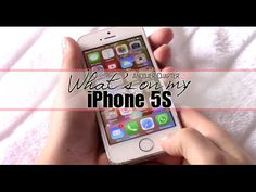 What's on my iPhone 5S #blog #bloggen #blogger #life #fun #anotherchapter #youtube #video #filmpje #film #iphone #vlog #vlogger #vloggen #iphone5s