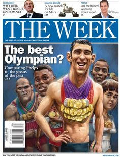 The best Olympian? August 17, 2012