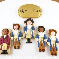 Hamilton the Musical Cookies Celebrating my daughter's 24th birthday!