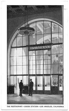Garden Of Allah, Metro Rail, Cali Girl, Union Station, Two Men, Downtown Los Angeles, Vintage Photographs, Past, Louvre