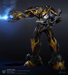 #Autobt #Transformer Bumblebee recargado en está imagen Art. ¿dispara rayos láser?
