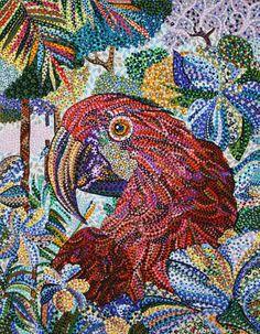 "Saatchi Online Artist: Erika Pochybova-Johnson; Acrylic, 2012, Painting ""Furtive"""