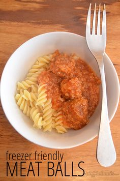 This freezer friendly bulk meatballs recipe is a favourite family meal at our house.