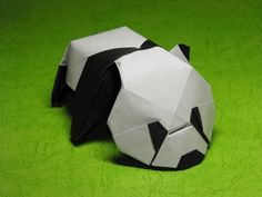 Origami Baby Panda by Jacky Chan - YouTube
