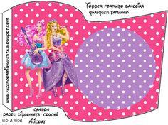 Imprimibles Barbie Princesa y Pop Star 6. | Ideas y material gratis para fiestas y celebraciones Oh My Fiesta!