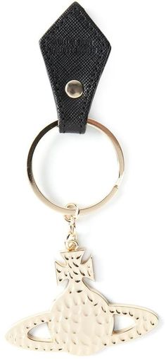 Pin for Later: Pimp Your Purse With the Cutest Bag Charms and Accessories Vivienne Westwood 'Orb' Keyring Vivienne Westwood 'Orb' Keyring (£27)