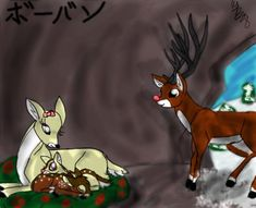 Rudolph's Family by Kalo28.deviantart.com on @deviantART