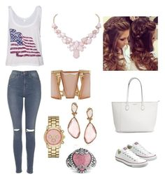 """""""vd 1"""" by gigipintoribeiro on Polyvore featuring Converse, Topshop, Humble Chic, M&Co, Merona and Mark Broumand"""