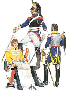 • Trumpeter of the 7th Cuirassiers, 1805-1809 • Marechal-des-logis of the 2nd…