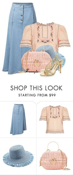 """""""Bag3"""" by sunnyia ❤ liked on Polyvore featuring Rebecca Taylor, Eric Javits and Chanel"""