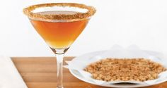 Snickerdoodle Martini - Mixed Drink Recipes,Cocktail &Drink Martini Recipes, Cocktail Recipes, Drink Recipes, Cocktail Drinks, Alcoholic Drinks, Cocktails, How To Make Martini, Vodka Martini, Mixed Drinks
