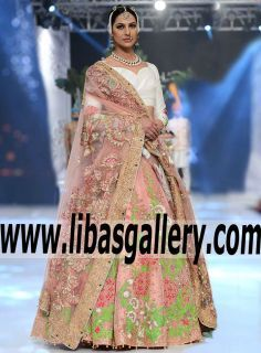 Our newest styles in our new favorite shade by Ali Xeeshan Lehenga is the perfect marriage of simple and chic. www.libasgallery.com .¸¸.•*¨*• bridal shop♡•*¨*•.¸¸. #UK #USA #Canada #Australia #France #Germany #SaudiArabia #Bahrain #Kuwait #Norway #Sweden #NewZealand #Austria #Switzerland #Germany #Denmark #France #Ireland #Mauritius #Netherland  #BCW #PLBW2017 #bridalwear #OccasionDresses #pfdc #Lehenga #bridals #weddingdress #sale #classic #latest 💕 #AliXeeshan #newcollection…