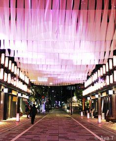 サクラの季節の楽しみの一つ、日本橋の春限定デコレーション