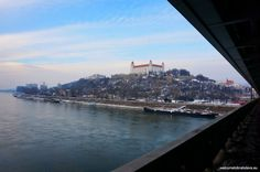 For those who can brave the cold and like the idea of walking through a snowy wonderland, we recommend to check these tips how to enjoy winter in Bratislava Bratislava, San Francisco Skyline, Castle, Winter, Travel, Winter Time, Viajes, Trips, Traveling