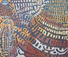 Lorna Napurrula Fencer  |  Yarla Jukurrpa – Bush Yam Dreaming  176 x 153 cm