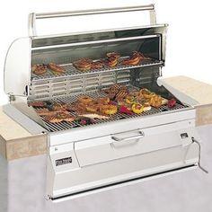 Built In Charcoal Grills Drop Insert