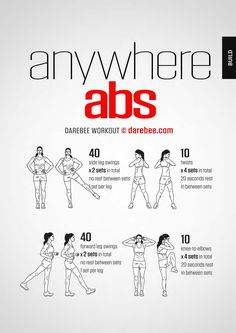 Abdominal Exercises Examples out Ab Workouts Men's Journal an Abs Workout At Home Guy. Abdominal Exercises For Muscle your Ab Workout Plan For Gym Fitness Workouts, Easy Workouts, Fitness Tips, Health Fitness, Easy Ab Workout, Night Workout, Fitness Plan, Yoga Fitness, Crunch Workout