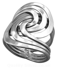 Tianguis Jackson Silver Curves Ring