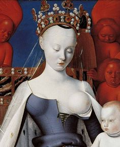 Agnès Sorel known by the sobriquet Dame de beauté, was a favourite mistress of King Charles VII of France, by whom she bore three daughters.