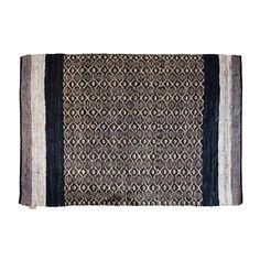 #byTzum for an easy lifestyle! Stoer ambachtelijk vervaardigd #karpet van leren stroken, gemaakt van recycled restmateriaal uit de tassenproductie 160x230 cm, voor €179,95