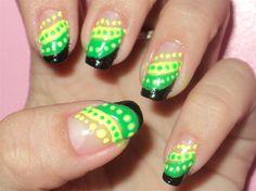jamaican nail design by aubrey - Nail Art Gallery nailartgallery.nailsmag.com by Nails Magazine www.nailsmag.com #nailart
