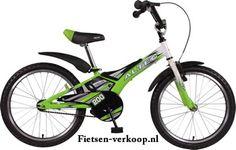 Jongensfiets Altec Pilot Groen 20 Inch | bestel gemakkelijk online op Fietsen-verkoop.nl
