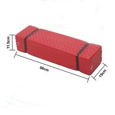 3CERA Folding Camping Mat Picnic Seat Pad Sleeping Mat Waterproof Comfort Cushion RED *** To view further for this item, visit the image link. This is an Amazon Affiliate links.