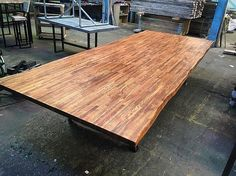 3.5x1.5m conference with live edge. #industrial #custom #furniture #tables #decor #interiors #vintage #sheffield #handmade #reclaimed #timber #wood #steel #welding #madeinsheffield #rustic  #design #carpentry #woodwork #cafe #bar #restaurant #office #home #rccfurniture #follow