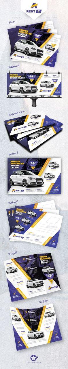 Ren A Car Bundle Templates  — PSD Template #business #motorcycles • Download ➝ https://graphicriver.net/item/ren-a-car-bundle-templates/18069173?ref=pxcr