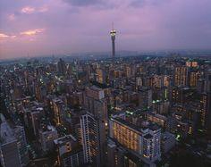 Johannesburg - City Skyline, South Africa