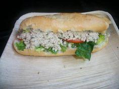 Lemon Dill Tuna Sandwich