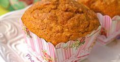 Εξαιρετική συνταγή για Ζουμερά muffins με κολοκύθα. Απλά θεσπέσια!