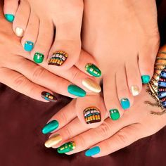 Mani-Pedi For Summer Time ❤ Learn How To Do Manicure And Pedicure In No Time ❤ See more ideas on our blog!! #naildesignsjournal #nails #nailart #naildesigns #toes #toenails #manicureandpedicure #pedicure Pretty Nail Designs, Toe Nail Designs, Mani Pedi, Manicure And Pedicure, How To Do Manicure, Foil Nails, Toenails, Beauty Routines, Looking Gorgeous
