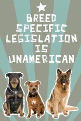 Breed Specific Legislation is UnAmerican
