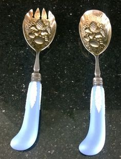 "Pair of Wedgwood Blue Jasperware ""Acanthus Fruit Serving Set"""