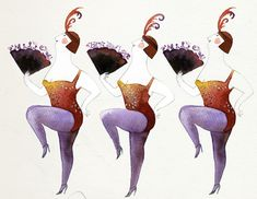 Janice Nadeau: illustrations with charming honesty ( art in all sizes - plus size )