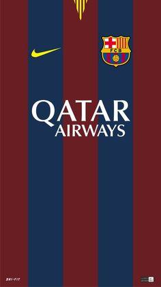 Wallpaper: Barça home jersey #fcblive [via @bagusgalih_98]
