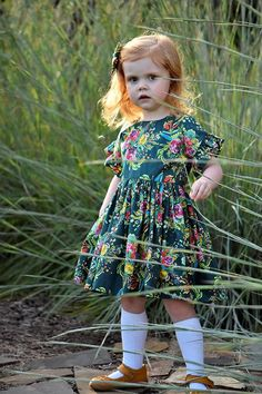 Cute Little Girls, Cute Kids, Swing Top, Toddler Fashion, Cotton Dresses, Vintage Inspired, Toddlers, Sewing Projects, Heaven