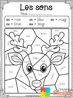 Noël coloriage magique par sons Learning French For Kids, French Language Learning, Teaching French, Preschool Coloring Pages, Alphabet Coloring Pages, Christmas Party Activities, Tutoring Business, French Worksheets, Preschool Art Activities