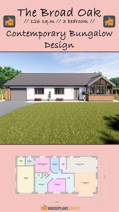 Master Bedroom Bathroom, Living Room Bedroom, Contemporary Bedroom, Contemporary Architecture, Country Living, House Plans, Floor Plans, Cottage, Exterior