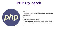 PHP try catch | Error Handling - Tuts Make Programming Languages, Web Application, Php, Coding, Messages, Learning, Studying, Teaching
