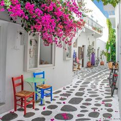 #Paros #parosisland #cyclades #Greece Paroikia, Paros island, Cyclades, Greece.